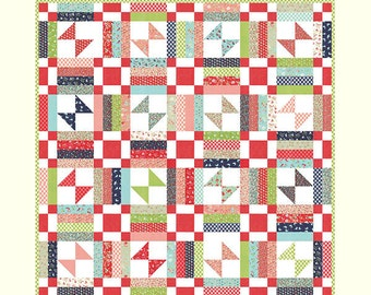 PICNIC Cotton Way Quilt Pattern by Bonnie Olaveson of Bonnie & Camille