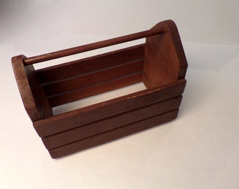 Vintage Wooden Box Crate Tool Box Craft  Box