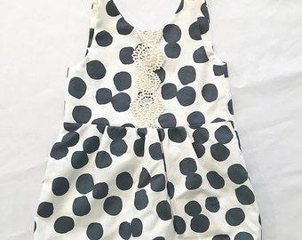 Girls Polka Dot Dress Size 2T