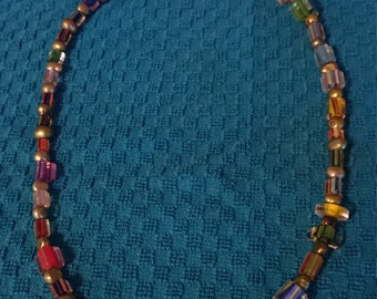 Cane Glass Necklace