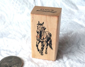 Running Horse Rubber Stamp Stamp Francisco Rubber stamp Small Horse Stamp, Galloping horse stamp, Equestrian stamp, Realistic STamp, Animal