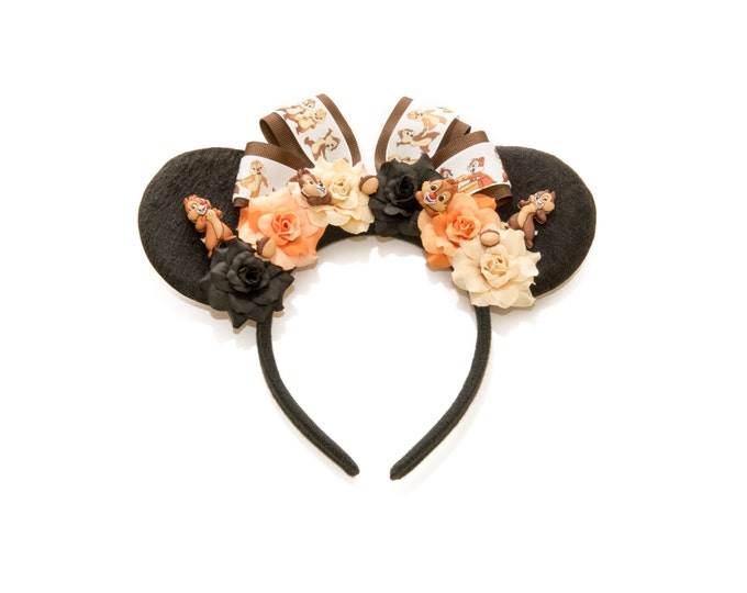 Chipmunk Mouse Ears Headband