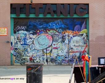 Titanic, Graffiti, Street Art, Urban Art, Street Photography, Urban Photography