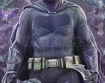 The Batman, Ben Affleck (High Quality 11X17 Print)