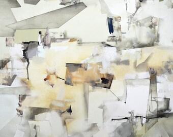Fine Art Canvas Print of Modern Abstract Painting, Contemporary Canvas Art, Home Decor Print, Decorative Modern Artwork