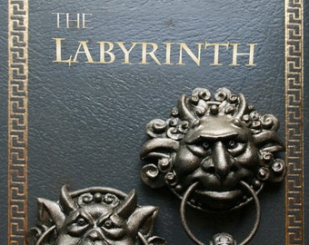 Labyrinth Door Knocker Magnet Set