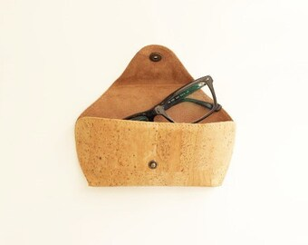 Cork Sunglasses Eyeglasses Case