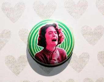 Twin Peaks Donna Hayward-One Inch Pinback Button Magnet