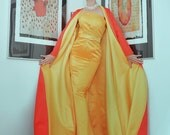 SAMPLE DRESS- Opera Coat and Ball Gown