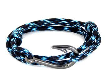 Fish Hook Bracelet  Adjustable Men Women Hand Made USA