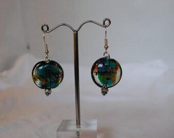 Fish bowl earrings