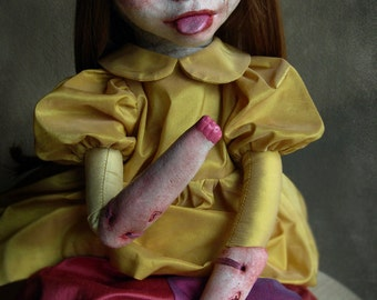 art doll - ooak - CHANTAL