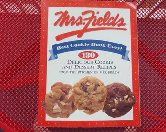 Mrs Fields Cookie Recipes Cookbook Christmas Cookies