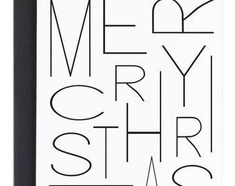 Modern Christmas card, Simple Holiday Card, Merry Christmas, Christmas Card, Simple Christmas card, xmas card, Modern Holiday Cards, Minimal