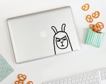 Mini Llamas Wall decal / Llama Vinyl Sticker / Alpaca Tile Decal / Llama Laptop Decal / Alpacas Stickers