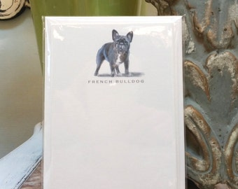 French Bulldog Note Card Set