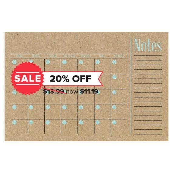 Calendar Poster Size : Sale calendar horizontal family planner wall