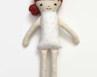Personalized Rag Doll, Personalized Girl Gifts, Personalized Baby Gifts, Personalized Cloth Doll, Handmade Cloth Doll, Gifts for Girls