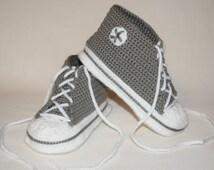 Child Crochet Converse