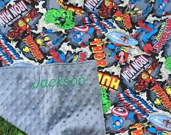 Marvel Blanket/Avengers Blanket/Baby Blanket/Kids Blanket