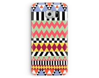 Geometric Phone Case, Aztec phone case, Aztec Samsung S6 Case, Samsung S6, Pattern Samsung Galaxy S6 Case, Tribal Samsung Case, S6 Edge Case