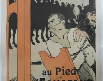 Original 1893 Toulouse Lautrec Lithograph 'Le Matin'