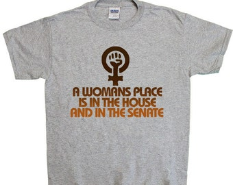 A Woman's Place Is In The House & The Senate -- Toddler/Youth T-Shirt