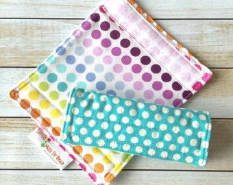 Polka Dot Luggage Handle Covers, Luggage Identifier, Bag Tag, Luggage Handle Wraps, Set of 2