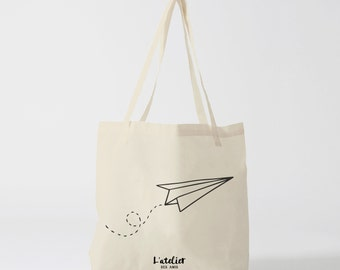X110Y Tote bag plane, canvas bag, handbag, tote bag, diaper bag, bag of race, child bag, cotton bag, computer bag