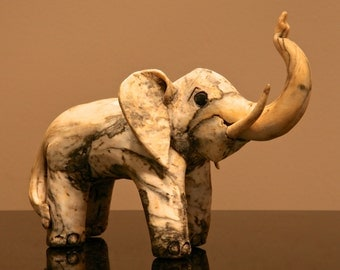 CARVED ELEPHANT bought in Honolulu