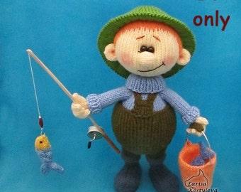 Fisherman, knitting pattern pdf