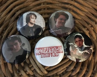 STRANGER THINGS Teenage Dream Button Pack