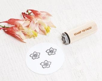 Lotus Flower - Mini Rubber Stamp