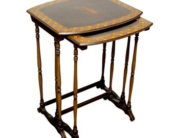 English Chinoiserie Nesting Tables