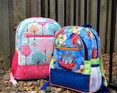 Backpack pattern, backpack PDF, Adventure Time Backpack, kids backpack, adults backpack, small backpack, large backpack