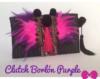 Footrope clutch Purple
