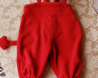 A little Devil costume #Halloween #Sitter size #Photoprop