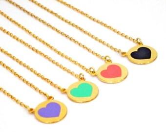 4 Best Friend Necklace, Custom Best Friend Necklace For 4, Friendship Necklace For 4, Bff Necklace For 4, Matching Sister Necklace