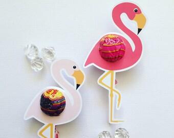 Flamingo lollipop holders