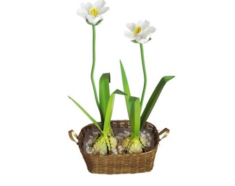 Small Decorative Basket of Flowers