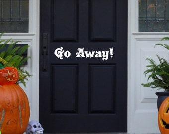 fall front door decorations halloween door decal unique halloween decorations spooky halloween decorations - Door Decorations For Halloween