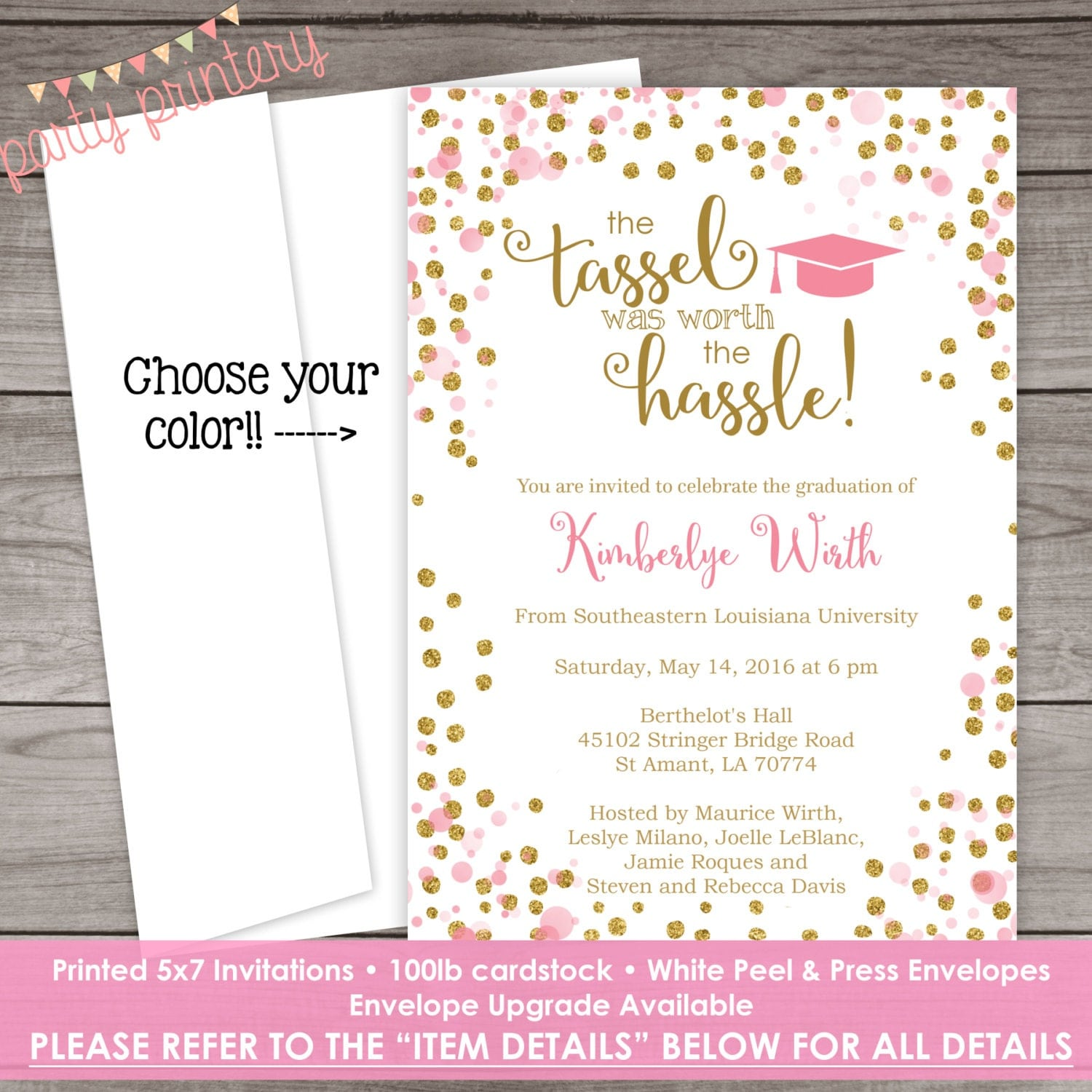 Nursing School Graduation invitations Nurse Graduation – Nursing School Graduation Invitations