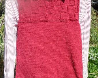 Ritzy Rose Tunic Vest
