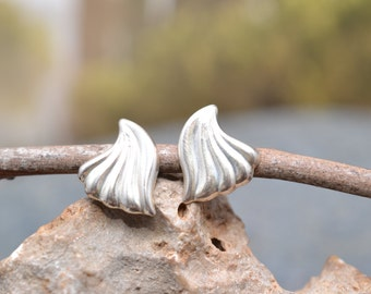 Sterling Silver Wing Post Earrings
