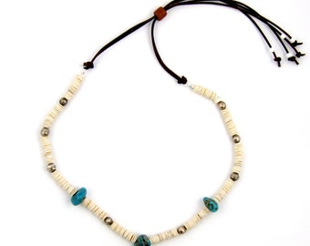 Vintage Inspired Trade bead necklace by Turquoise Kingdom