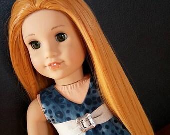 "Custom American girl doll Princess wig 18"" (size 10-11)"