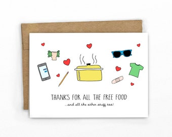 Thank You Card- Thanks for Everything by Cypress Card Co.