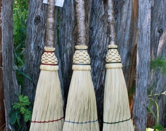 Hearth Broom with Maple Handle