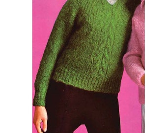 Turtleneck sweater knitting pattern Etsy