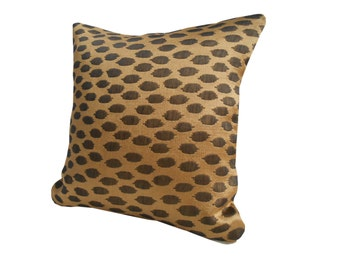"Leopard Print Cushion Cover, 12"" Leopard Pillow Case"